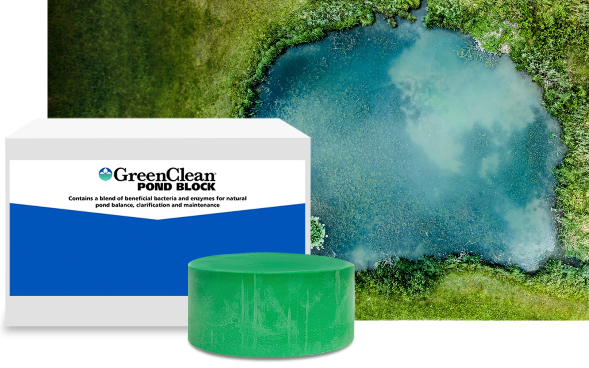 GreenClean® Pond Block product shot
